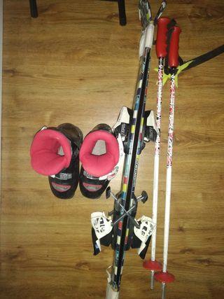 esquí alpino infantil