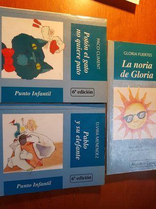 pack 3 libros infantiles nuevos