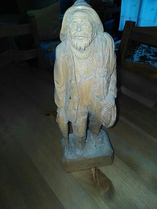 Escultura pescador de Gaeten Hovington Fisherman