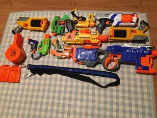 Pistolas y Balas de nerd
