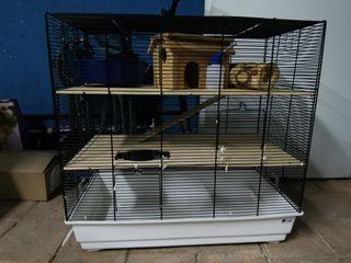 Jaula para roedor 65*65*35