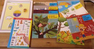 Lote de libros etapa infantil