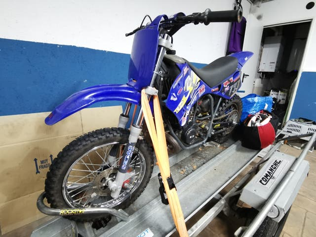 Moto de cross 50cc