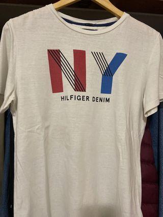 Camiseta blanca TOMMY HILFIGER