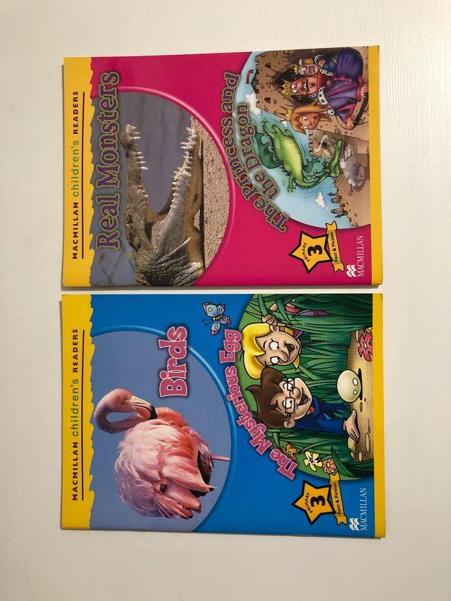Libros inglés Macmillan Children's Readers