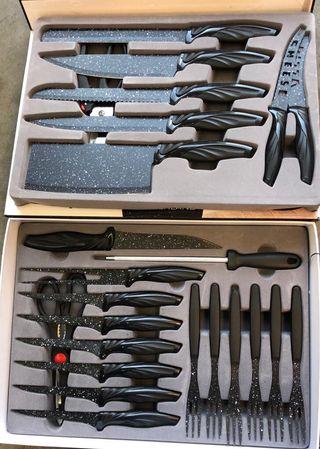 Cuchillo 24 piezas tijera afilador