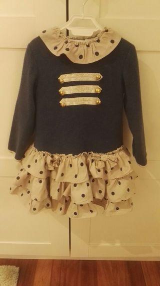 vestido dolce petit 3 años
