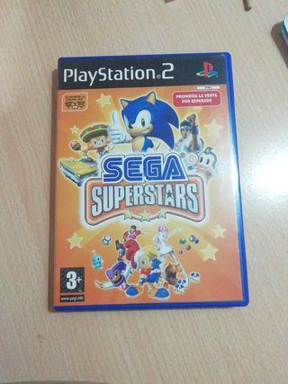 Sega Superstars para PlayStation 2