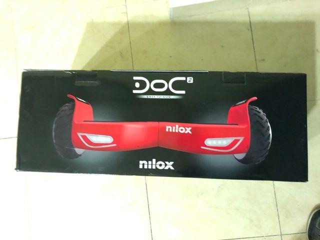 Hoverboard Nilox 2.0 A estrenar y garantía 2 años