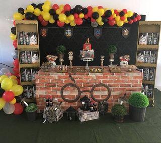 Fiesta mesa dulces harry potter