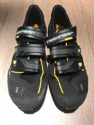 Zapatillas MTB ciclismo con calas