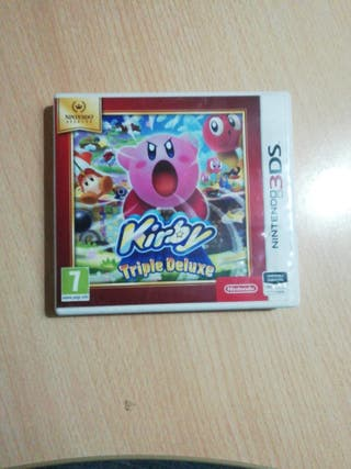 Kirby Triple Deluxe para Nintendo 3DS o 2DS