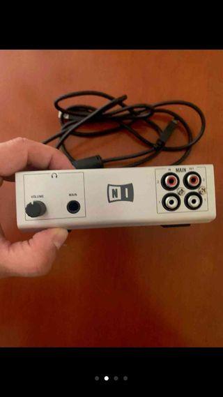Tarjeta sonido traktor audio 6