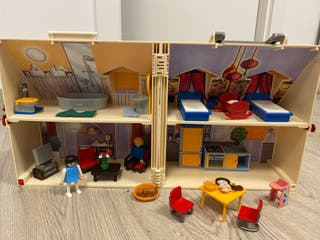 Maletín casa playmobil