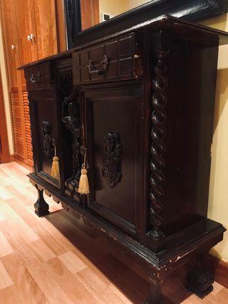 mueble rústico vintage antiguedad