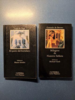 Clásicos literatura española Bachillerato