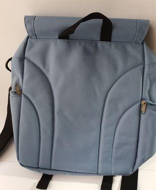 Bolsa de lona impermeable de color azul