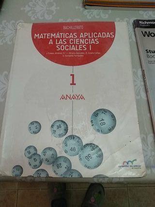 Libro Matemáticas aplicadas ciencias soc. 1