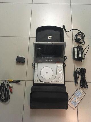 Reproductor dvd/cd/mp3 portátil Airis.