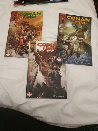 Comics de Conan el Asesino.