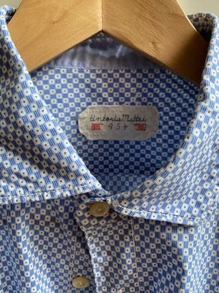 Camisa masculina Tintoria Mattei