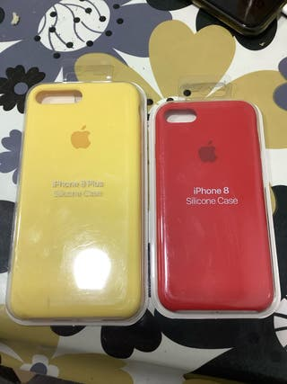 SOLO FUNDA ROJA Fundas originales iPhone 7/8