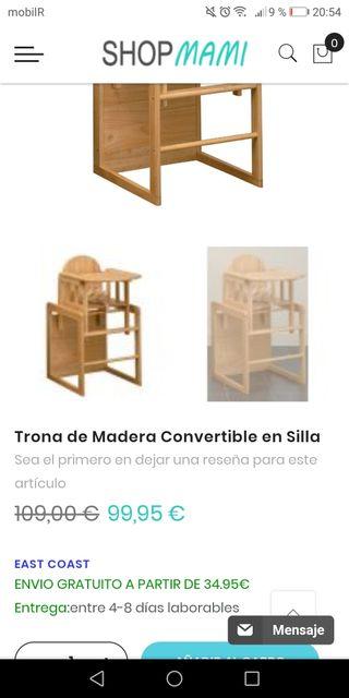 Trona Madera Convertible