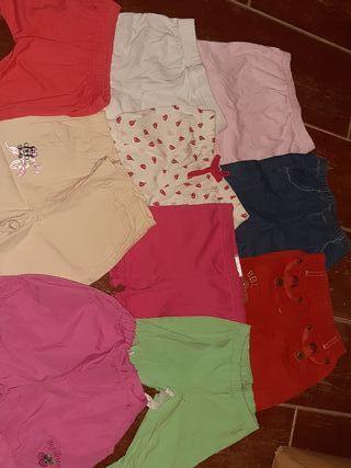 pantalones verano niña