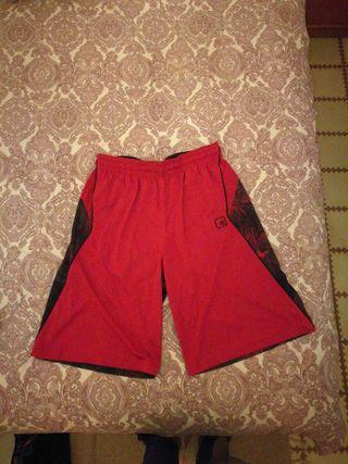 Bermudas Basket AND1 rojas