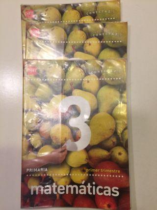 Libros de matemática 3 de primaria