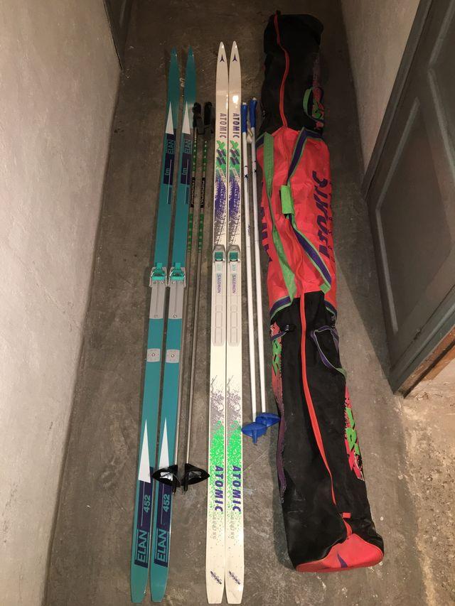 Esquís de fondo