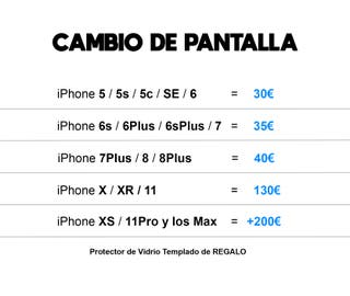 Cambio de pantalla iPhone
