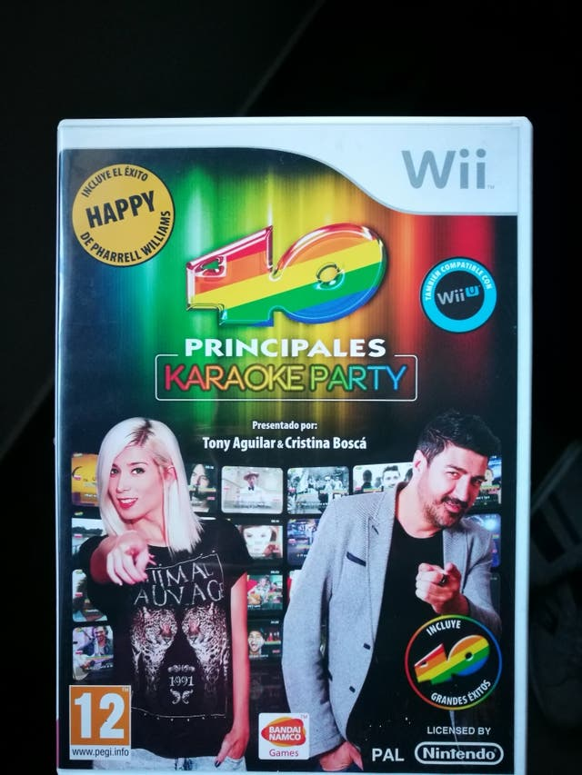 karaoke party wii