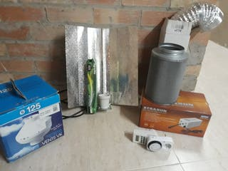 pack / kit cultivo interior 600w