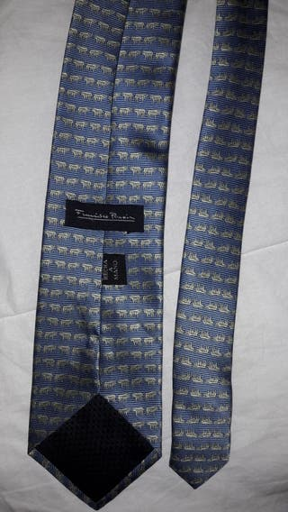 Dos corbatas Francisco Pavón hechas a mano