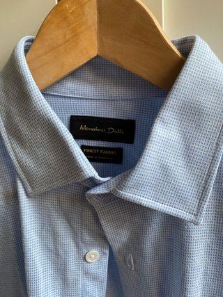 Camisa masculina Massimo Dutti