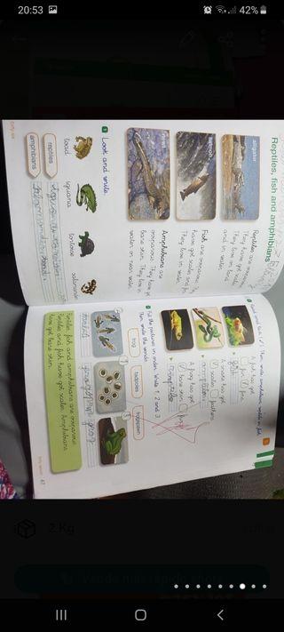 Libro sciencie primero primaria