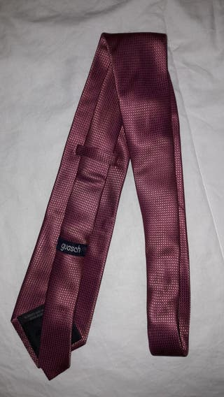 Dos corbatas Guash hechas a mano anti manchas