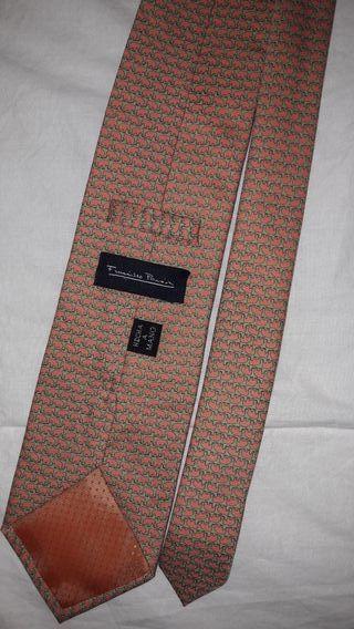 Cuatro corbatas Francisco Pavón hechas a mano
