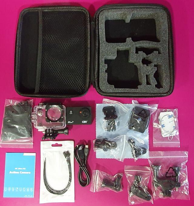 Vendo cámara deportiva tipo Go Pro marca CBX 4K