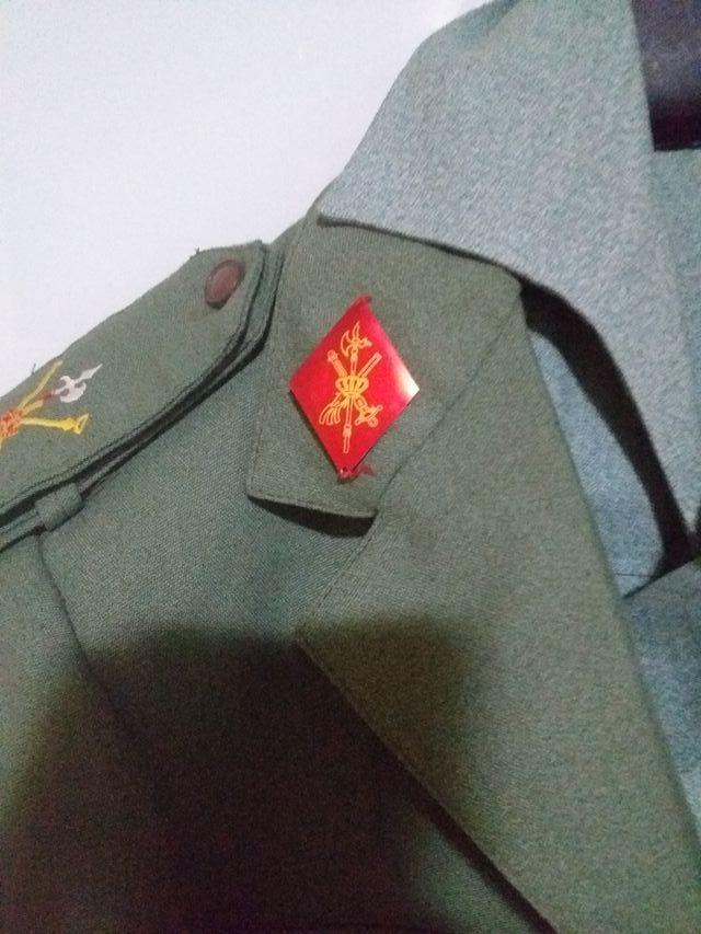 ropa militar legion