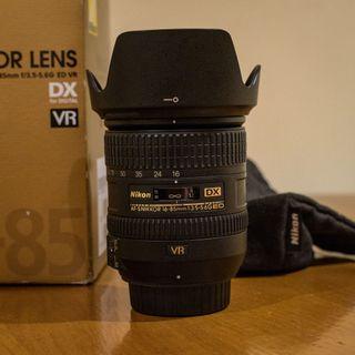 Objetivo Nikon 16-85mm f3.5-5.6