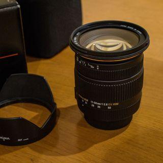 Objetivo Sigma 17-50mm f2.8 para Nikon