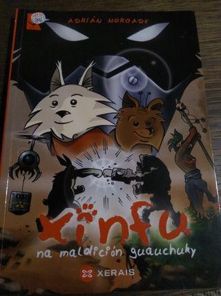 Libro infantil Xinfu na maldición guauchuky