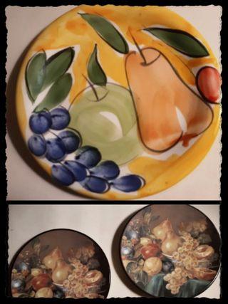 Platos decorativos cocina (vintage)