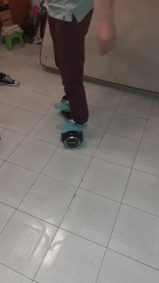hoverboard con bluetooth y luces LED,