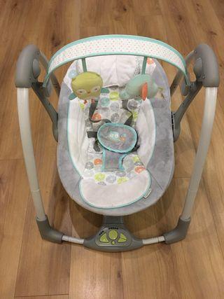 Columpio hamaca bebé eléctrica