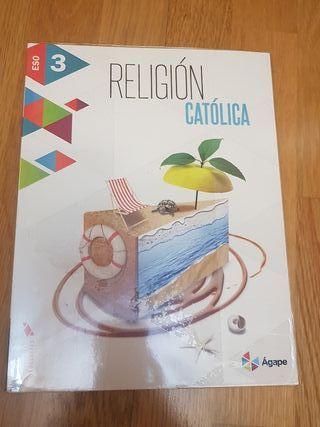 libro texto Religión 3 E.S.O