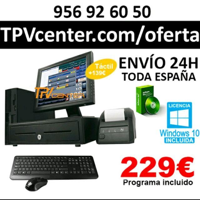 TPV Comercio y Hostelería + Programa