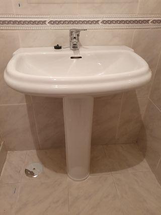 Conjunto baño ROCA, blanco
